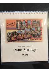 Palm Springs 2019 Calendar