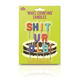 Shit You Are Old Candles