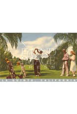 Palm Springs Golf Postcard