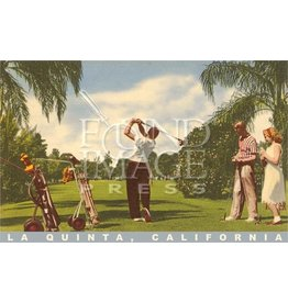 Palm Springs Golf Postcard