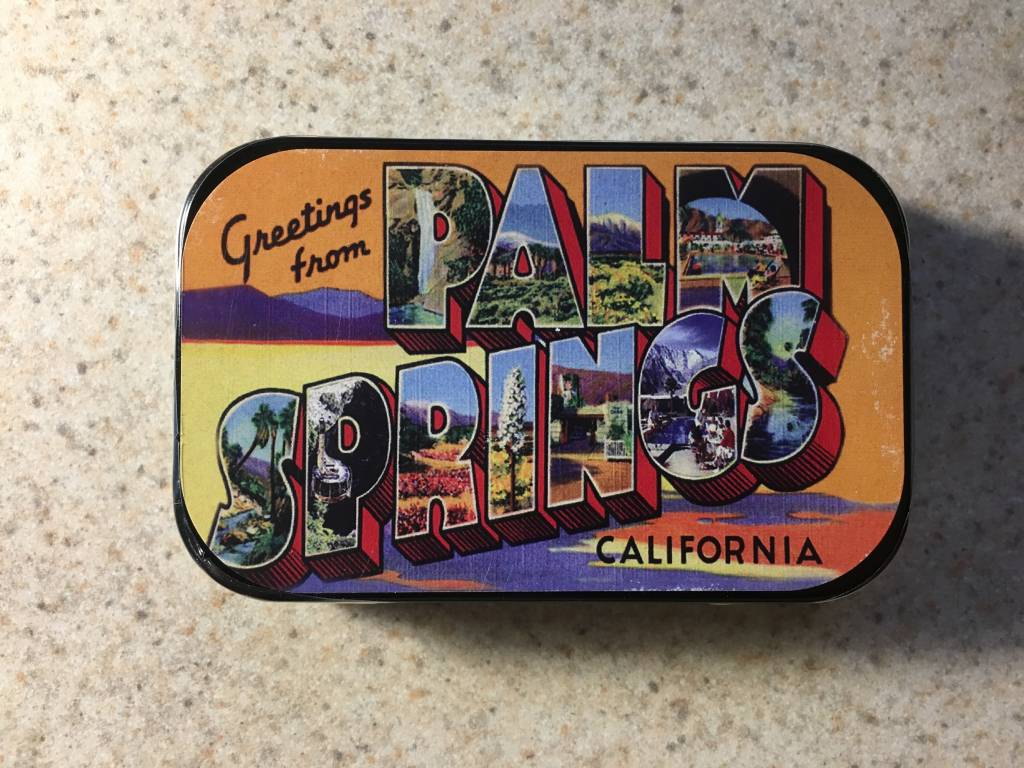 Greetings From Palm Springs Mints