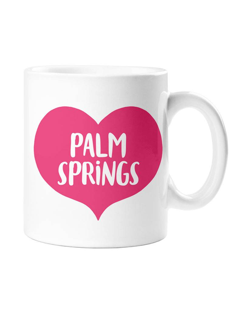 Palm Springs Pink Heart