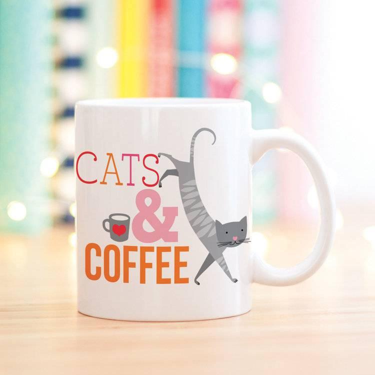 Cats & Coffee Mug
