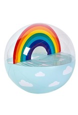 Inflatable Ball Rainbow XL
