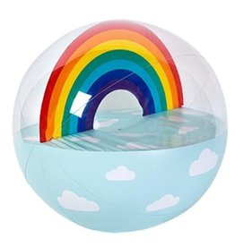 Inflatable Ball Rainbow XL