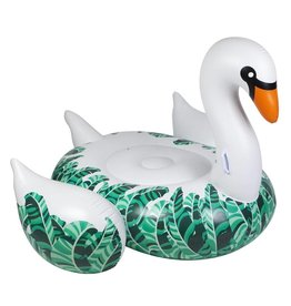 Luxe Float Swan Banana Palm