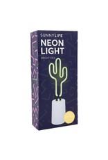 Cactus Neon Light Desk Small