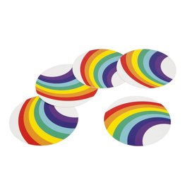 Coasters Rainbow (Set Of 16)