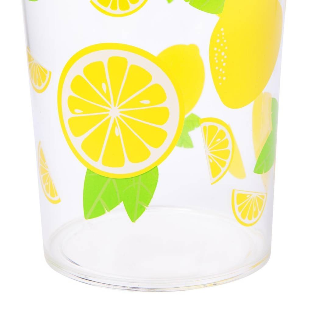 Party Drinkware Set Lemon