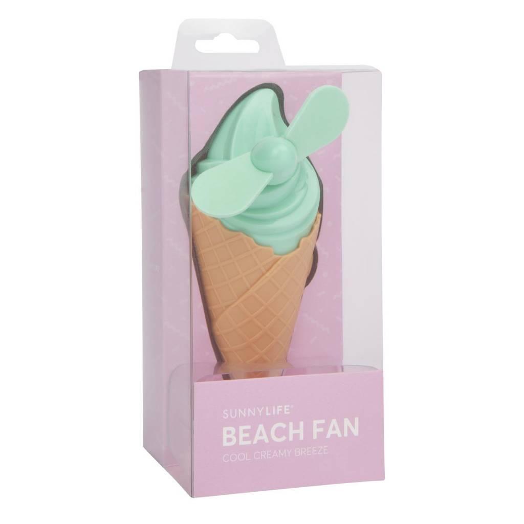 Ice Cream Beach Fan (Mint)