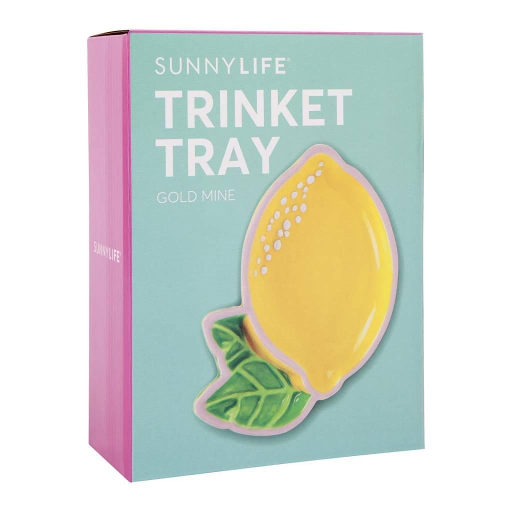 Lemon Trinket Tray