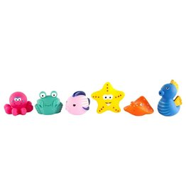 Bath Squirters (Set Of 6)