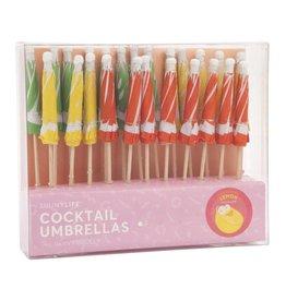 Cocktail Umbrellas Citrus Set Of 24