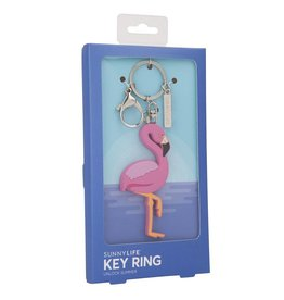 Sunnylife Flamingo Key Ring