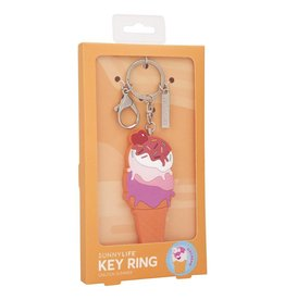 Sunnylife Ice Cream Key Ring