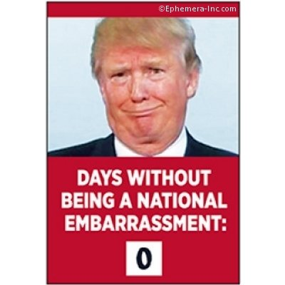 Days Without Being A National Embarrassment Magnet