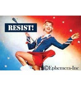 Resist (Baton Lady) Magnet