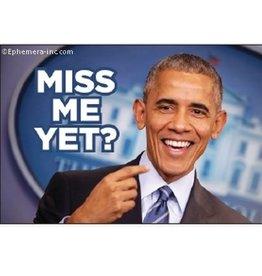 Miss Me Yet? Obama Magnet