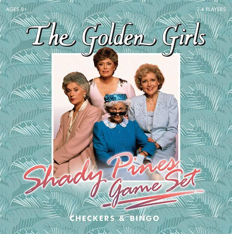 Combo Shady Pines Game Set Golden Girls
