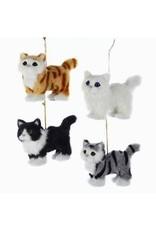 Plush Cat Ornament