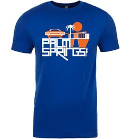 Mod Car Royal Blue Men's T-Shirt