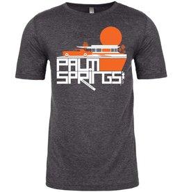 Cool Continental Charcoal Men's T-Shirt