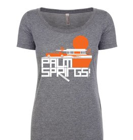 Cool Continental Heather Grey Women's T-Shirt
