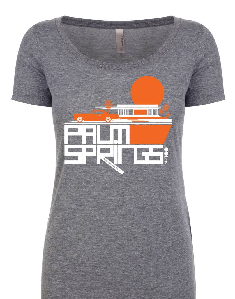 Cool Continental Heather Grey Women's T-Shirt