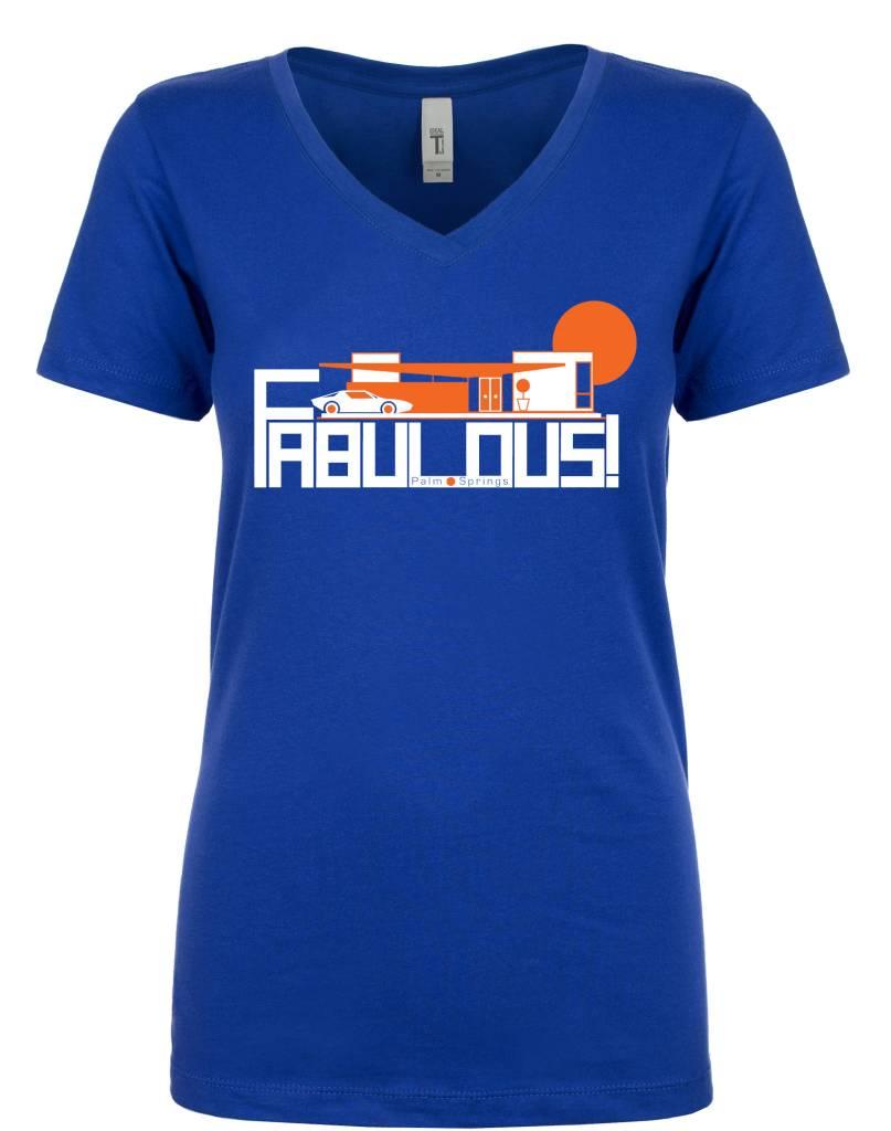 Fabulous Royal Blue Women's T-Shirt