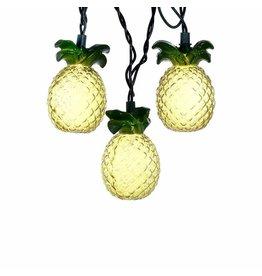 Glass-Look Pineapple Light Set