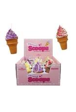 Foam Ice Cream Cone Ornament Assorted
