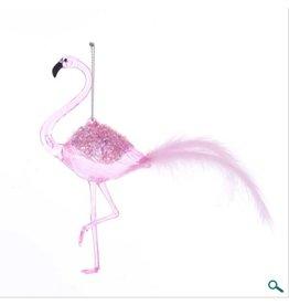 Pink Flamingo Ornament
