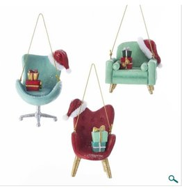 Mid Century Style Chair Ornament