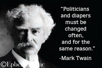 Politicians And Diapers Must Be Changed Magnet