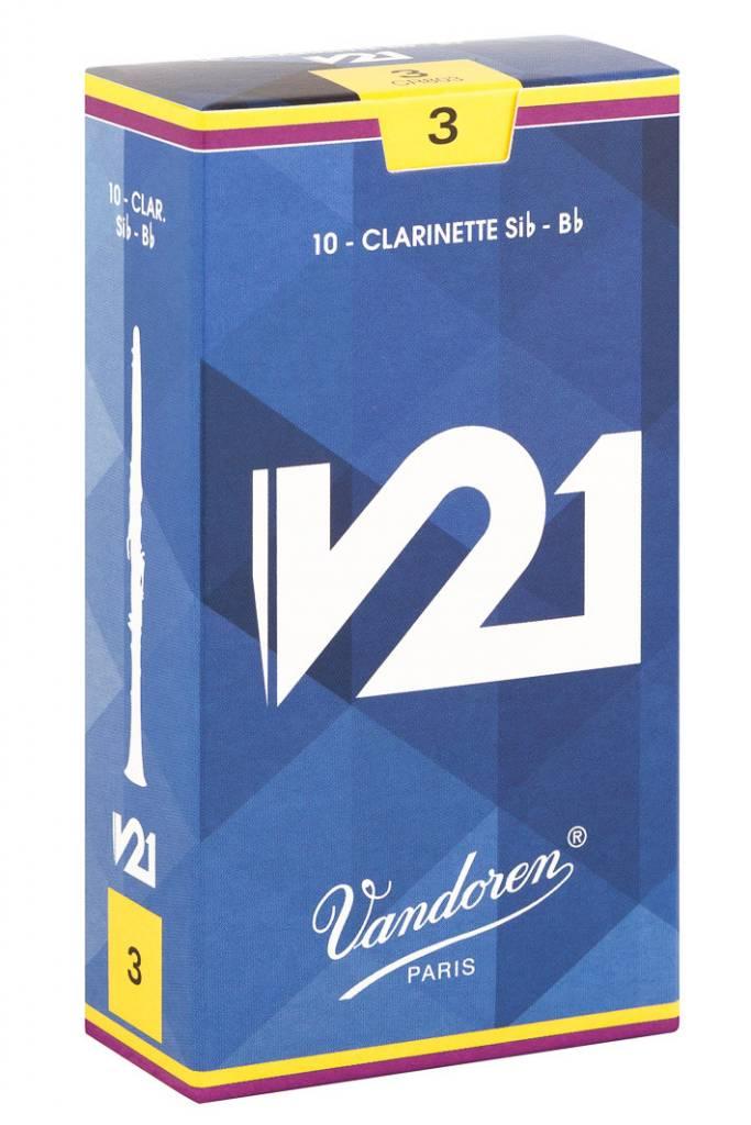 Vandoren V21 B Flat Clarinet Reeds