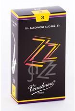 Vandoren ZZ Jazz Alto Saxophone Reeds
