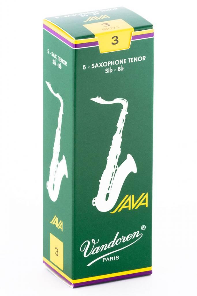 Vandoren JAVA  Green Tenor Saxophone Reeds