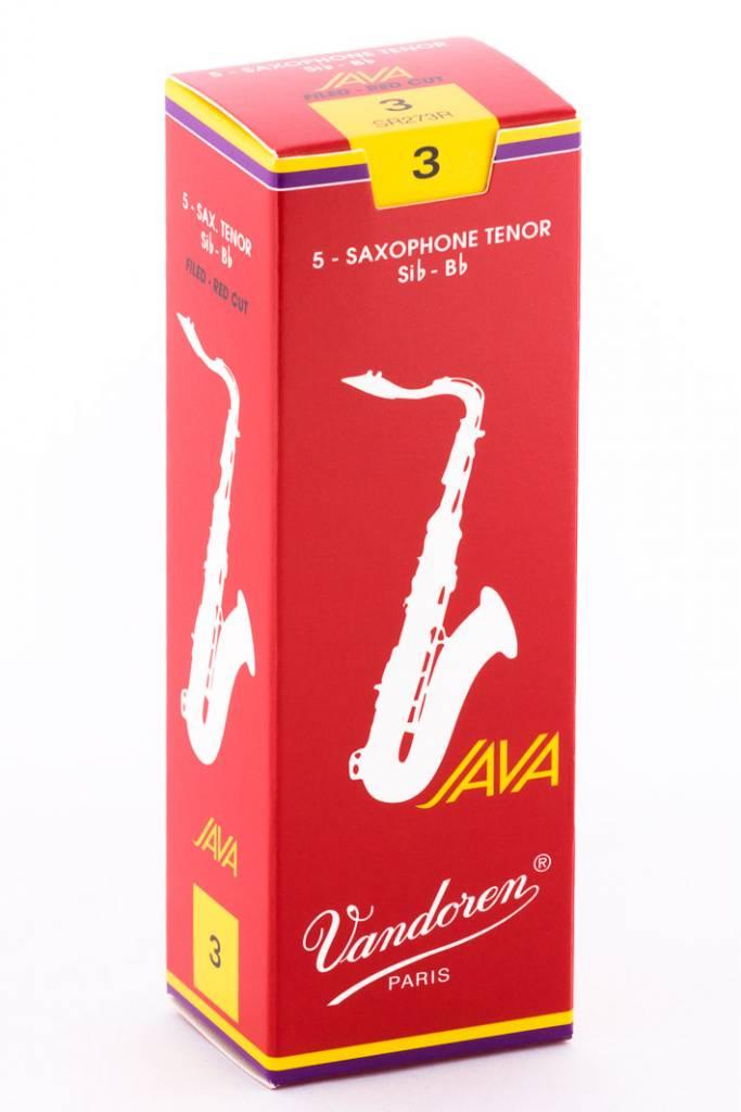 Vandoren JAVA  Red Tenor Saxophone Reeds