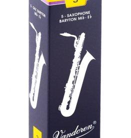 Vandoren Traditional Baritone Saxophone Reeds