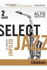 D'addario Select Jazz  Alto Saxophone Reeds