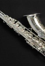 TM Custom Tenor Saxophone in Silver