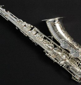 TM Custom Tenor Saxophone in Silver
