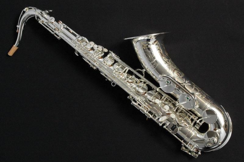 TM Custom 500sl Tenor Saxophone in Silver