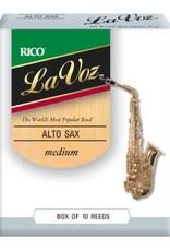 D'addario Rico La Voz Alto Saxophone Reeds