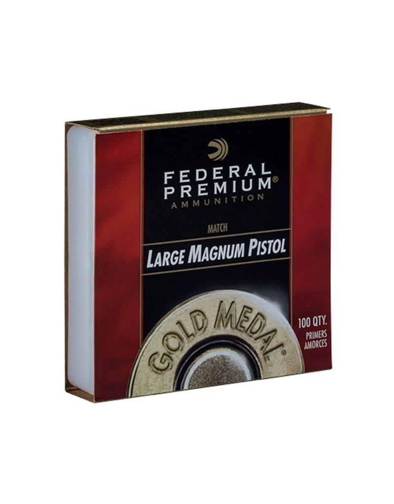Federal Federal Gold Medal Primers -