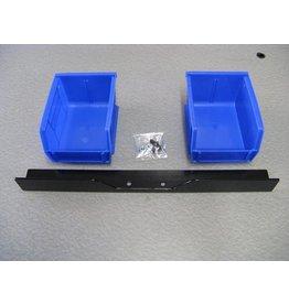 Inline Fabrication Inline Dual Bin/Bracket Set (Square Deal)