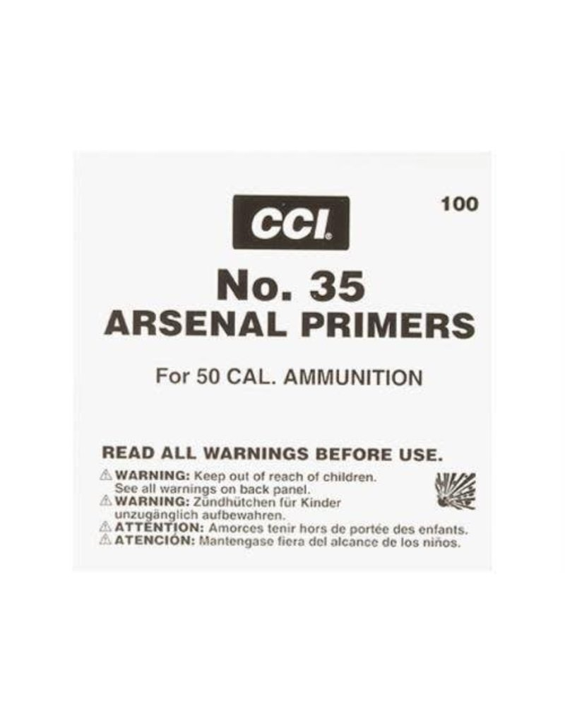 CCI CCI Primers -  50 BMG (#35) 2500ct