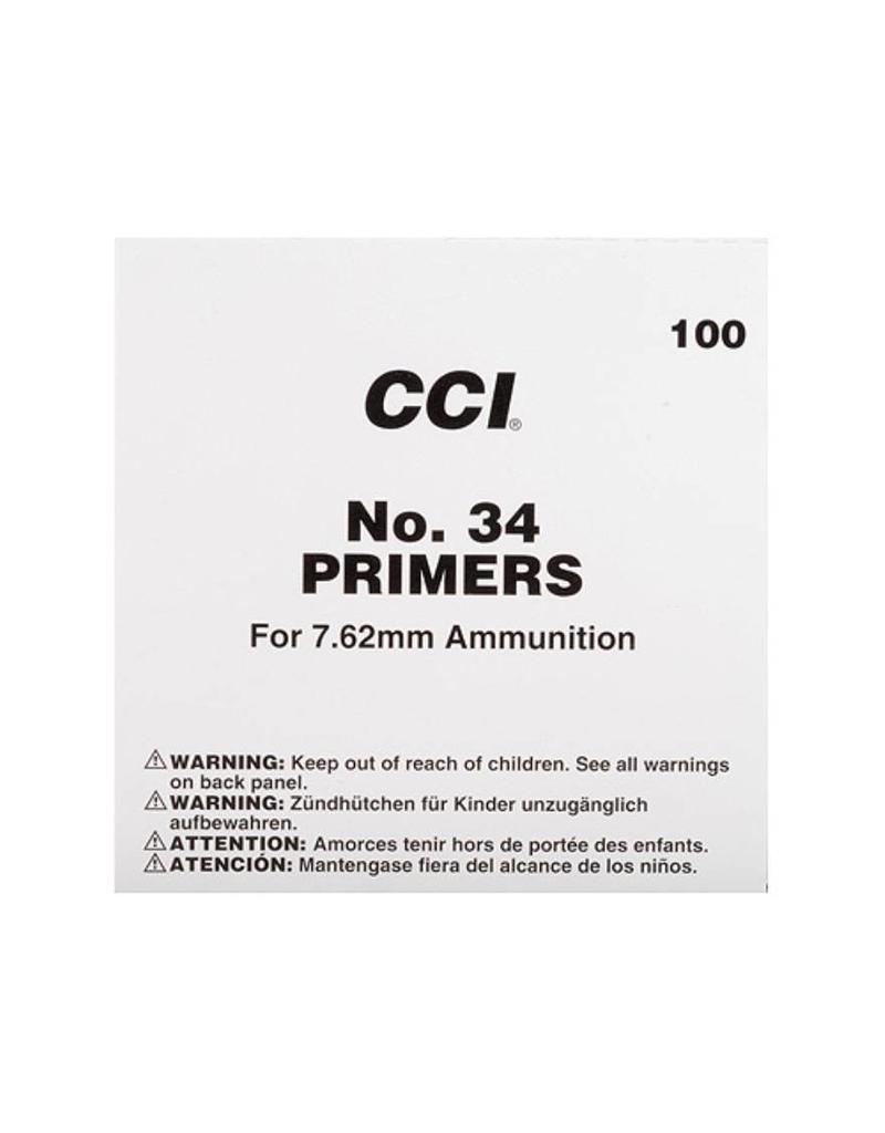 CCI CCI Primers -  7.62mm Military (#34) 1000ct