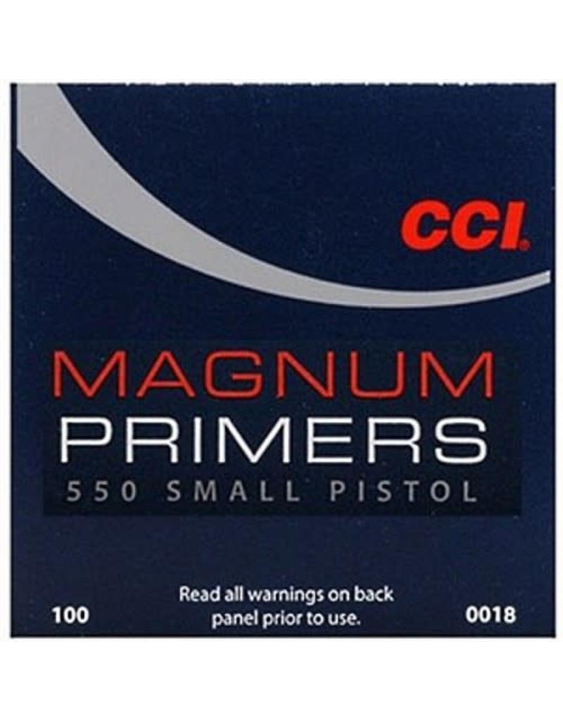 CCI CCI Primers -  Small Pistol Magnum 5000ct