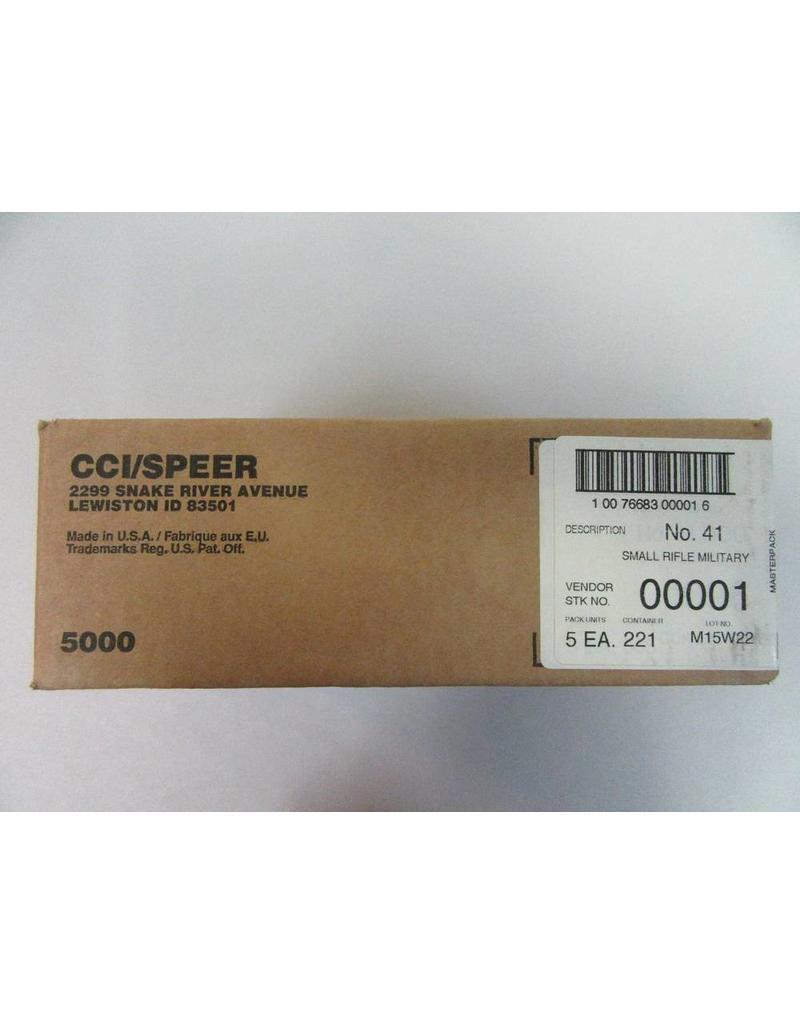 CCI CCI Primers -  5.56mm Military (#41) 5000ct